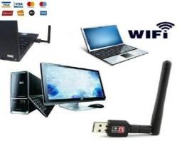 Usb Antena Wireless, Computador Wifi, Receptor e Notebook Wi-fi