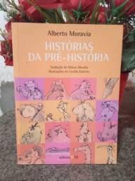 """Livro """"Histórias da Pré História"""" - Alberto Moravia"""