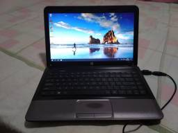 Notebook HP core i5 HD 500RAM 6GB teclado bom com carregador