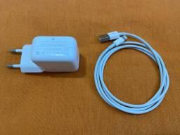 Carregador iPad retina 12W 100% original Apple
