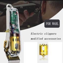 Carcaça Transparente Magic Clip Cordles Acessorios Dourado