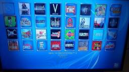 PS3 com 49 Jogos