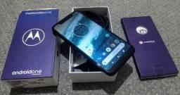 Motorola One 64GB Novo Completo