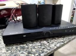 Dvd com caixa de som