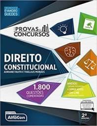Livro direito consitucional 1.800 questões comentadas