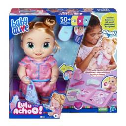 Título do anúncio: Lançamento Baby Alive Lulu Achoo Pisca os Olhos, Movimenta-se, Fala e Emite Luzes