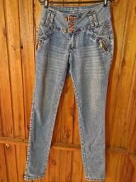 631 - Caças jeans - Diversos modelos - Tam 42