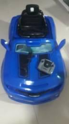 Título do anúncio: Carro elétrico infantil / camaro azul