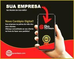 Cardápio Digital Web