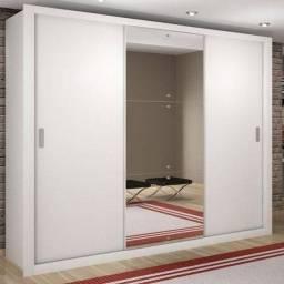 Guarda Roupa 3 portas c/ espelho Zattini - Receba hj