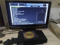 Título do anúncio: playstation 2 fat hd e modem