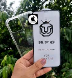 Kit Proteção Iphone11 Capa+Pelicula