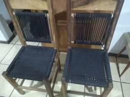 Cadeira antiga de Imbuia