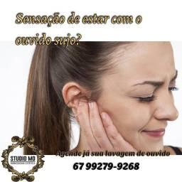 Título do anúncio: Lavagem de ouvido