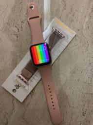 Relógio Digital Smartwatch IWO W26 + Pulseira de Brinde (Retirada no Centro)