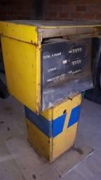 Bomba de gasolina combustivel de posto Ipiranga antigo