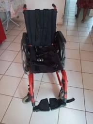 Cadeira de roda semi nova ortobras