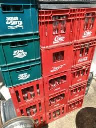 Vendo vazilhames de coca cola SL,