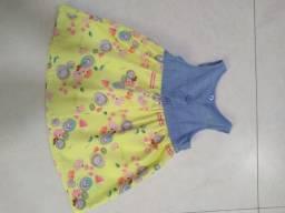 Vestido para Bebê da Alphabeto.