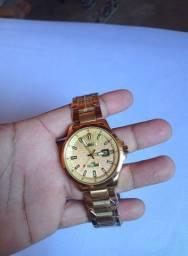 Relógio masculino inoxidável  prova D,água