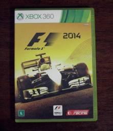 Formula 1 F1 2014 para Xbox 360 mídia física