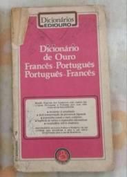 Título do anúncio: Vendo livros e dicionários usados