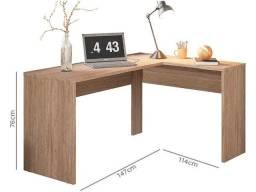 Mesa de computador e escritório de canto (entrego e monto)