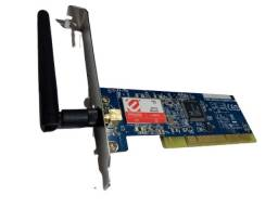 Peças para informática - Memória pra notebook / Placa de rede wireless pra computador.