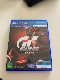 Jogo Gran Turismo Sport