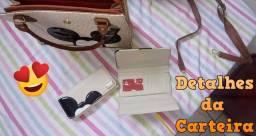 Conjunto Bolsa Feminina + Carteira Adulto Mickey   Marca: Gouveia Costa