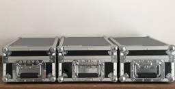 Par de cdj 350 +mixer djm 400+case individual