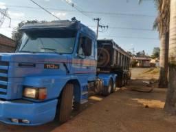 Scania 113 Top Line Engatada Caçamba Basculante
