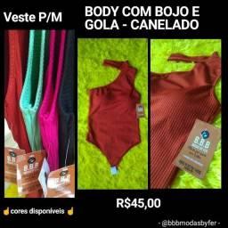 Título do anúncio: Blusas e Bodys NOVOS