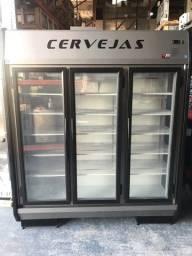 V- Expositor para cervejas (-4 graus) pronta entrega