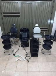 Cadeira barbeiro-Moveis para salão