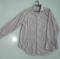 Camisa Xadrez CALVIN KLEIN ( Perfeito Estado )
