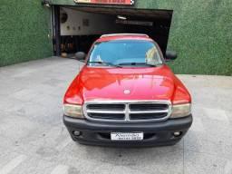 Dodge dakota 3.9 sport 4x2 cs v6 manual vermelha 1999