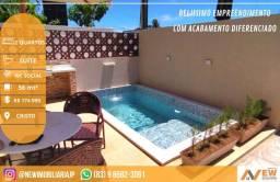 Magnifico apartamento com piscina na melhor localização do Cristo