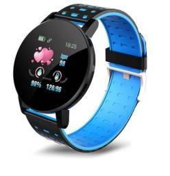 Relógio Smartwatch Sensor Touch Inteligente Esportivo Medidor de Pressão