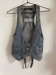 Colete jeans