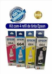 Tinta Epson original t544, 644 é 504