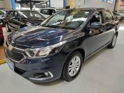 Chevrolet Cobalt LTZ 1.8 Flex Azul 2019 (Automático + Couro)