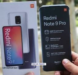 Note 9 Pro Preto 128GB/4GB Ram Índia