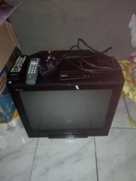 TV de tubo com monitor