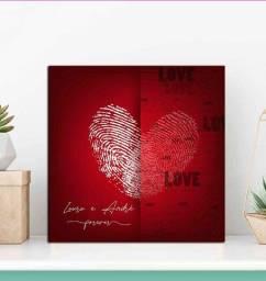 Quadro Decorativo Dia dos Namorados