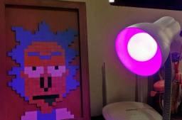 Lampada Inteligente RGB + Branco Quente controlada por Bluetooth