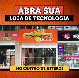 Loja no Centro de Niterói.
