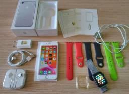 (novos) Iphone 7 + Apple Watch (2nd). Estudo trocas / Parcelo 12x