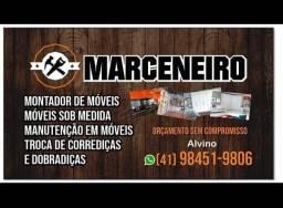 Marceneiro, móveis sob medida, serviço gerais em móveis,,, montagem