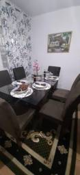 Título do anúncio: Mesa de jantar de vidro com 6 cadeiras